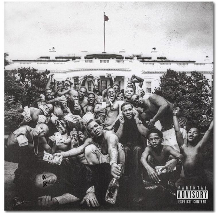 To Pimp A Butterfly- Kendrick Lamar album art. Courtesy of LAtimes.com.